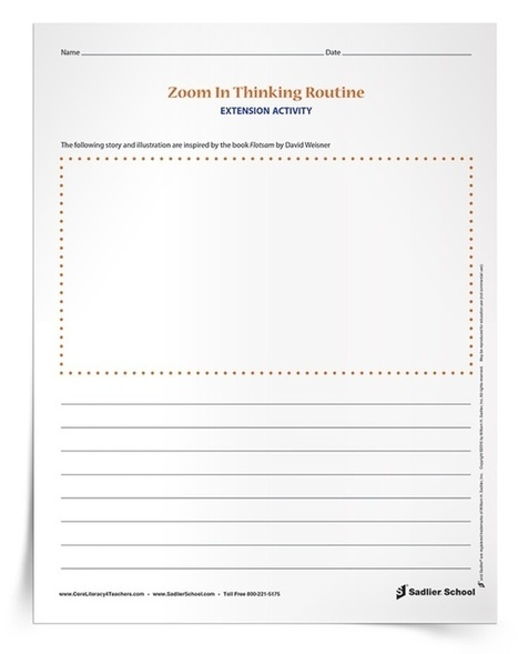 Make Thinking Visible with the Zoom In Thinking Routine; A Professional Development Series | Professional Learning at James Hill Elementary | Scoop.it