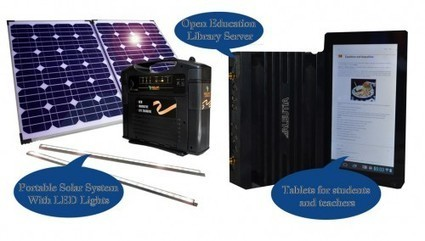 Solar Powered Open Education Library in a Box for Schools in Sierra Leone | mLearnAfrica | Scoop.it