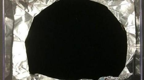 "Surrey NanoSystems has ""super black"" material | Physics | Scoop.it"