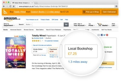 BookIndy Chrome Extension Lets You Shop Amazon (in the UK) for Books and Buy Local | Pobre Gutenberg | Scoop.it