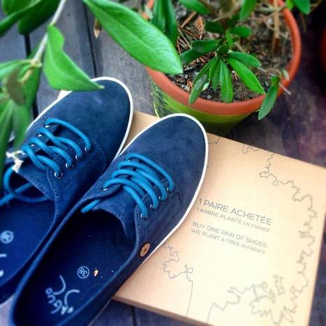 Faguo, une paire de chaussures achetée = 1 arbre planté. | FAGUO | Scoop.it