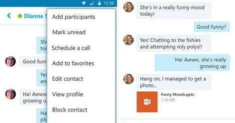 Skype for Android lets you schedule calls, open Office files | Tech and Gadgets News | Scoop.it