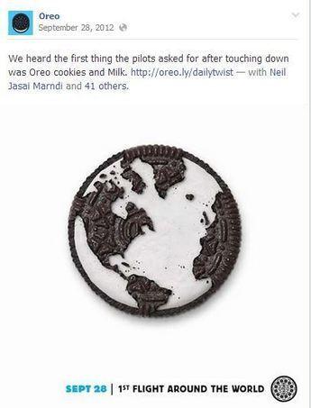 Oreo Uses Facebook to Facilitate Brand Transcendence | Social Media, SEO, Mobile, Digital Marketing | Scoop.it