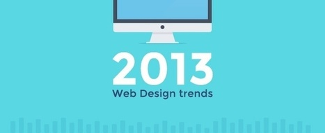 Web Design Trends In 2013 We Practice, And So Should You! - SpyderWeb | UI-UX design 2013 | Scoop.it