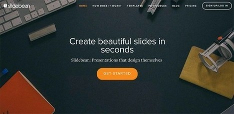 Create an Unforgettable Presentation with Slidebean | Business and Productivity Tools | Scoop.it