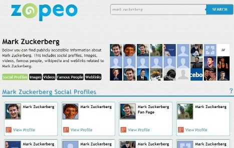 Zopeo. Un autre moteur de recherche de personnes. | Time to Learn | Scoop.it