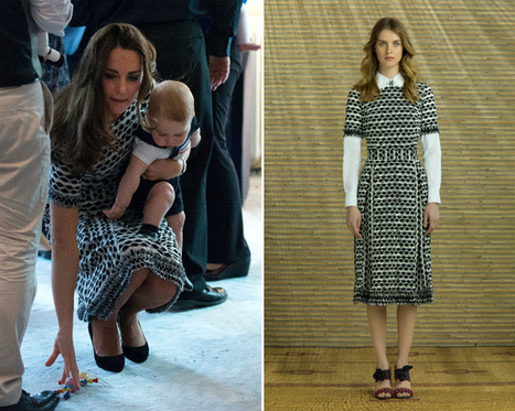 The Kate Middleton effect? Her Tory Burch dress instantly sells out | latest fashion trends | Scoop.it