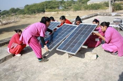Mujeres hondureñas aprenden sobre energía solar en India | Genera Igualdad | Scoop.it