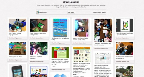 400+ iPad Lessons Pinned | Library | Scoop.it