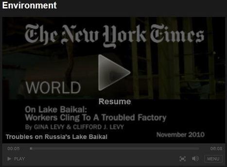 Troubles on Russia's Lake Baikal | Regional Geography | Scoop.it