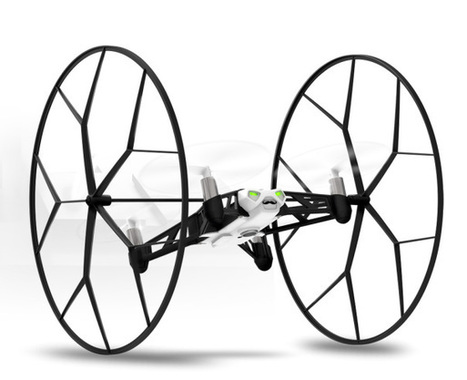 [RECENSIONE]: Il #Drone Parrot Minidrones Rolling Spider | ToxNetLab's Blog | Scoop.it