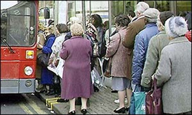 Old woman in bus queue fails to disclose her age | NewsBiscuit | enjoy yourself | Scoop.it