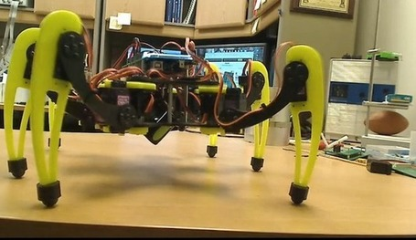 Bot-Logic Hexapod is Arduino-compatible and open source | Open Hardware News | Scoop.it