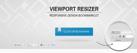 10 Handy Responsive Design Testing Tools For Designers and Developers | Web technos | Scoop.it