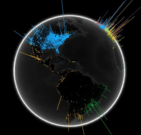 Global Visualization of Google Searches by Language | Trade Languages | Scoop.it