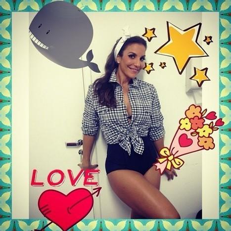 Ivete Sangalo posa em estilo pin up e exibe belas pernas | Garota Pin-Up | Scoop.it