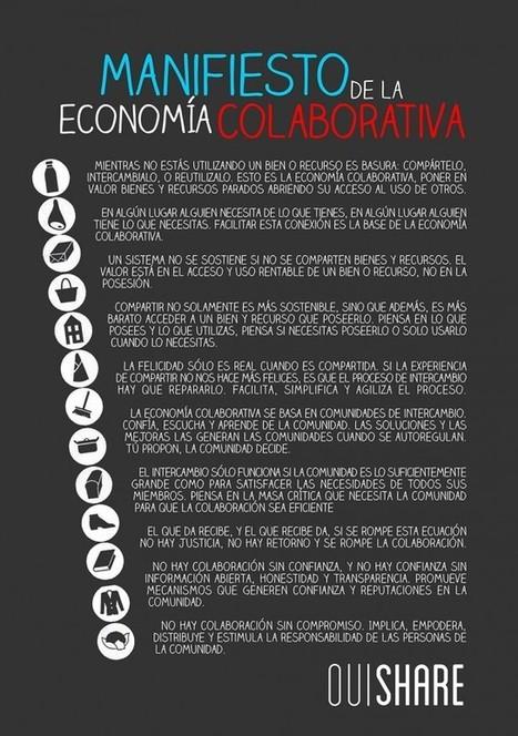 Manifiesto de la Economía colaborativa   Albert Garcia Pujadas   qtorb   Nuevas realidades   Scoop.it