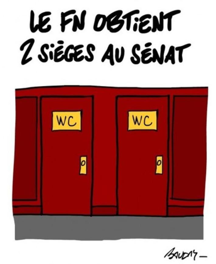 Sénat: deux sièges pour le FN | Baie d'humour | Scoop.it