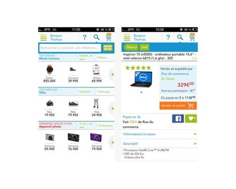 L'application Rue du Commerce mise sur la personnalisation | Customer-centricity | Scoop.it