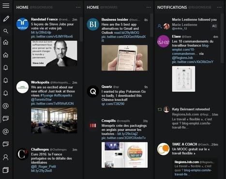 Tweeten : une extension pour améliorer TweetDeck - Blog du Modérateur | François MAGNAN  Formateur Consultant | Scoop.it
