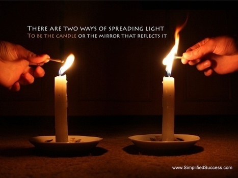 Candle or Mirror? | Quote for Thought | Scoop.it