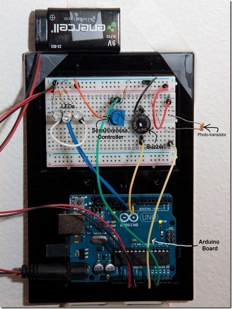 Arduino Fun – Door Entry Alarm - I know the answer (it's 42) - Site Home - MSDN Blogs | arduino integración | Scoop.it