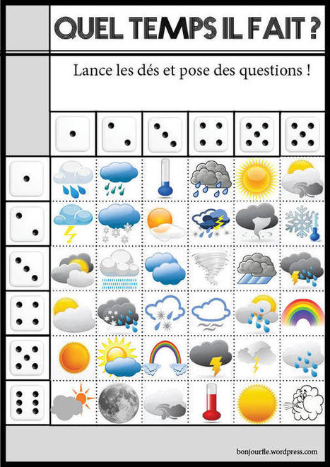 Jeux avec des dés   French teaching stuff   Scoop.it