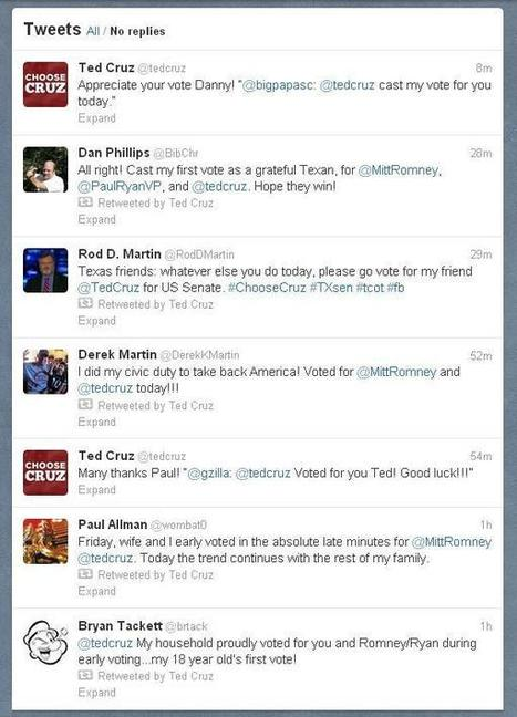 Ten politicians who've excelled at social media in 2012 - Houston Chronicle (blog)   SMM - monitoring and communities   Scoop.it