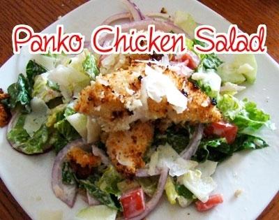 Crispy Panko Chicken Salad   Best Easy Recipes   Scoop.it