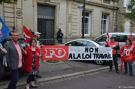 Alençon Loi Travail : les opposants interpellent Joaquim Pueyo | Le Mag ornais.fr | Scoop.it