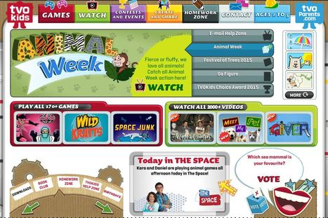 Don't miss TVO Kids! Superb Interactive Educational Site for Kids ages 2-11 | Education Matters - (tech and non-tech) | Scoop.it