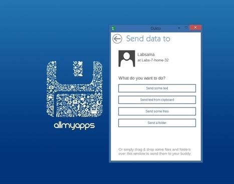 Transférez vos fichiers en un clin d'oeil avec Dukto | Allmyapps Le Mag | Scoop.it