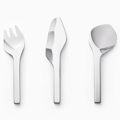 Sekki cutlery that looks like prehistoric stone tools | Design | Scoop.it