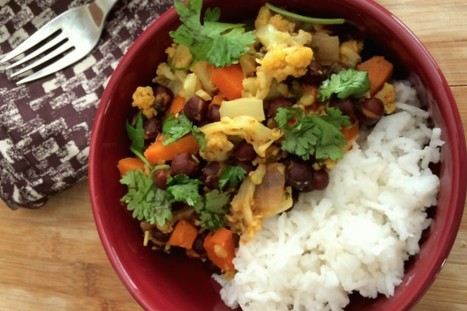 Black Chana Vedic Curry [Vegan] | My Vegan recipes | Scoop.it