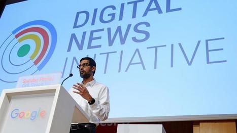 Google distribue 27 millions d'euros pour les médias européens | DocPresseESJ | Scoop.it