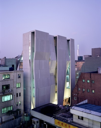 Gallery Yeh / Unsangdong Architects | ami meg tetszik | Scoop.it