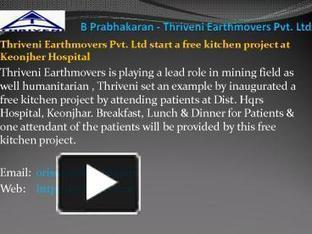 B Prabhakaran-Thriveni Earthmovers Pvt. Ltd | B Prabhakaran - MD of Thriveni Earthmovers Pvt. Ltd. | Scoop.it