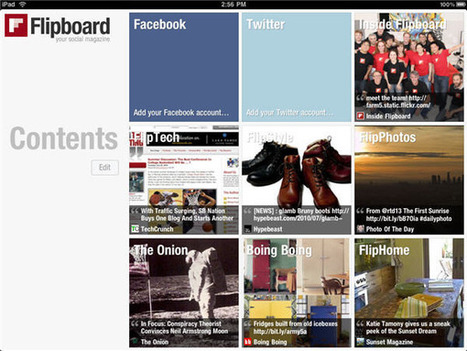 Flipboard lance le support pour les tablettes sous Android 10 pouces | RSS Circus : veille stratégique, intelligence économique, curation, publication, Web 2.0 | Scoop.it