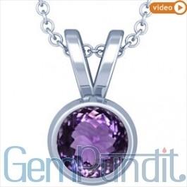 Buy Amethyst Pendant Online at GemPundit.com. | GemPundit | Scoop.it