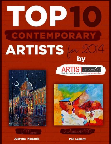 Top 10 Contemporary Artists for 2014 Announced by Artist Become | Share Some Love Today | Scoop.it