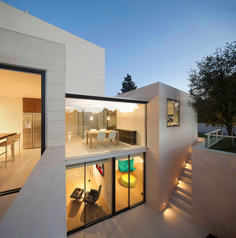 Modern Simplicity: The Exciting White Igualada N1 Residence in Barcelona, Spain   +Arquitectura   Scoop.it