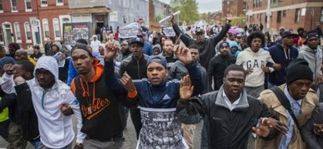New protests erupt in Baltimore after black suspect's death - | news | Scoop.it