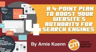 A 4-Point Plan to Boost Your Website's Authority for Search Engines | Social Media, SEO, Mobile, Digital Marketing | Scoop.it