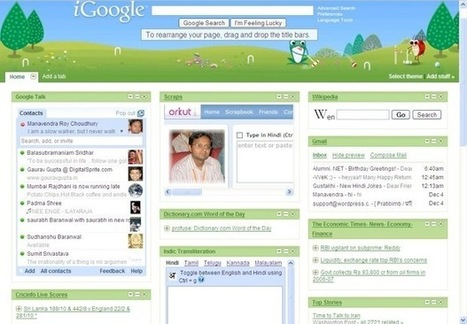 iGoogle prend sa retraite | Apple, IMac and other Iproducts | Scoop.it