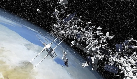 ¿Qué es la basura espacial y cómo eliminarla? | Agua | Scoop.it