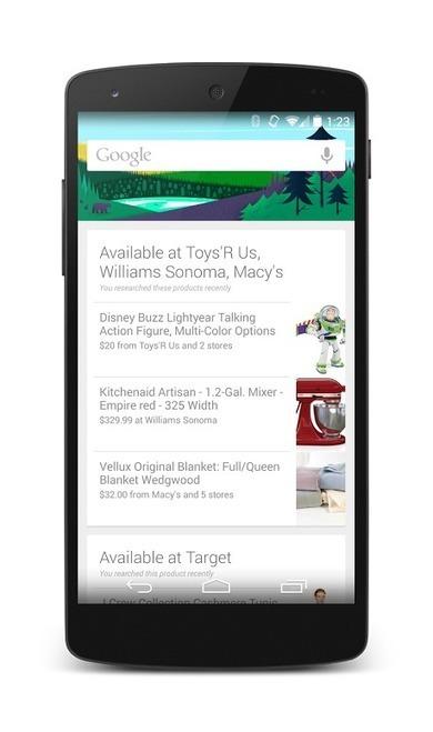 Google Now, dis-moi où est l'objet de mes désirs ! - FrAndroid | Google (For school) | Scoop.it