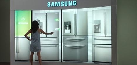 Samsung crée un showroom interactif pour présenter son catalogue grandeur nature | Retail | Scoop.it