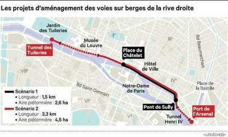 Voies sur berge à Paris: Hidalgo présente deux scénarios de piétonnisation de la rive droite | Médias sociaux et tourisme | Scoop.it