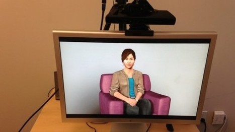 Researchers create virtual therapist with webcam and game sensor   PrivatePractice   Scoop.it