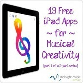 19 Free iPad Apps for Musical Creativity: Play, Improvise and Record Music | Midnight Music | Le son sur tablettes | Scoop.it